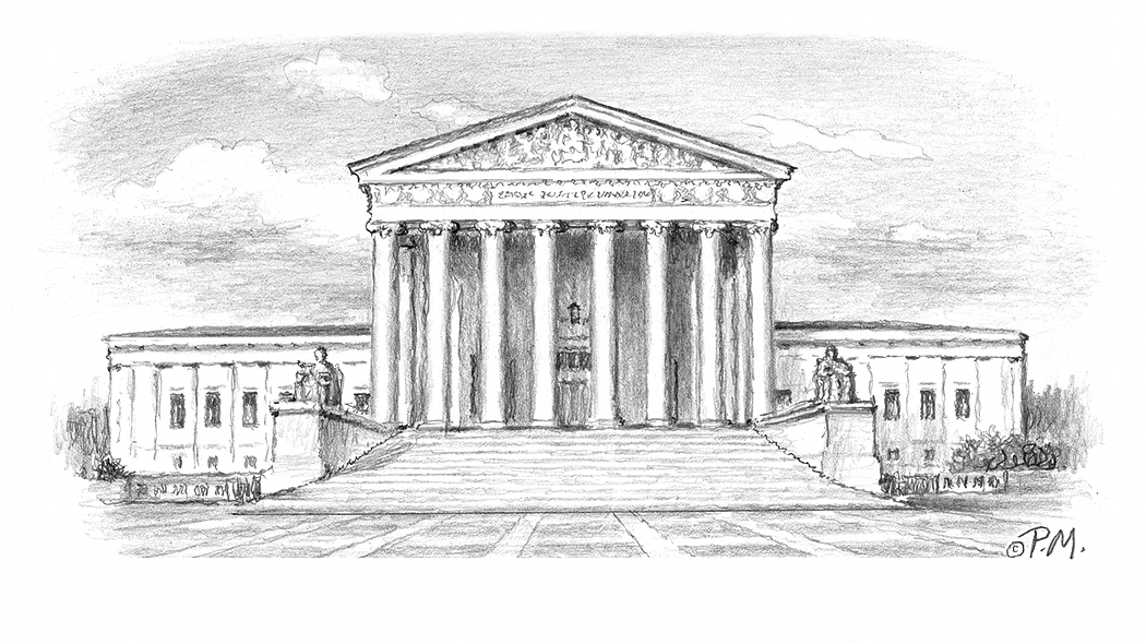 Drawn building supreme court building The Legislative Of corners other