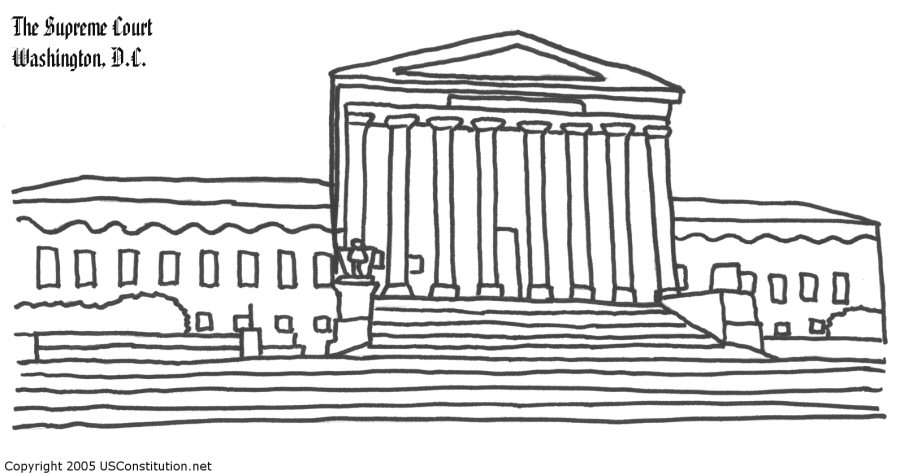 White House clipart supreme court building Court Vlad Coloring By 72KB