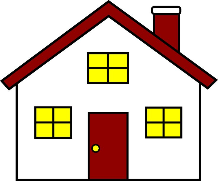 Hosue clipart home and family 25+ Window Clip art Pinterest