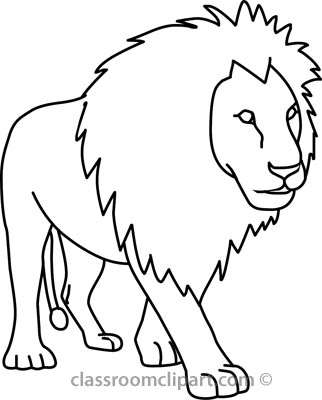 White Lion clipart Black lion 2 clipart and