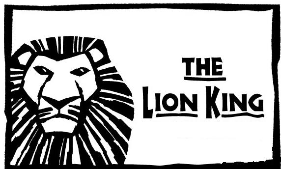 The Lion King clipart black and white Clip Lion Together Clip King
