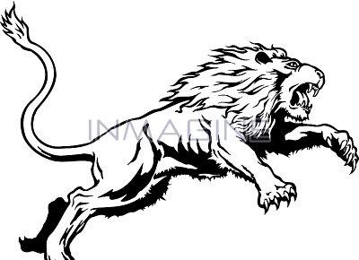 Lion clipart tough #3