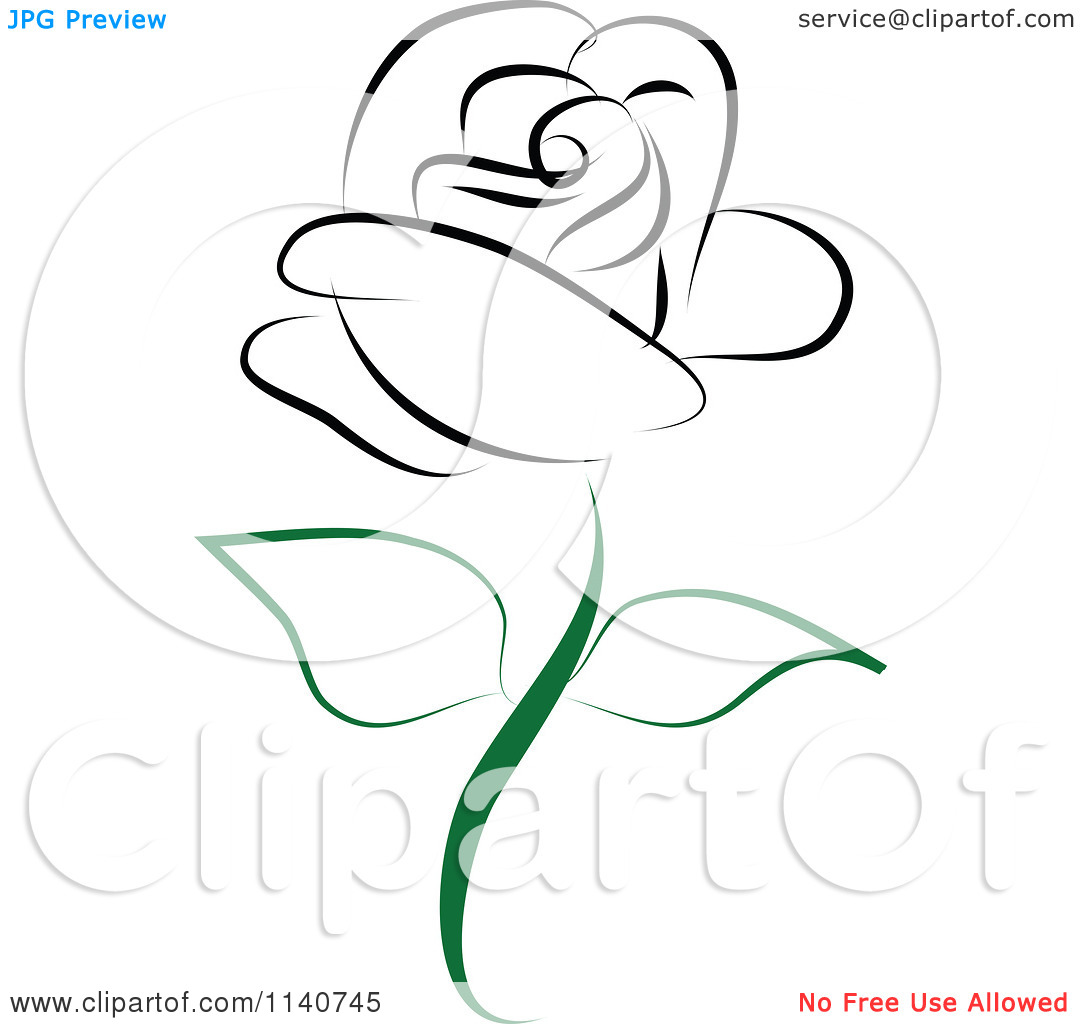 Beautiful clipart black and white Rose Clip White Art collection
