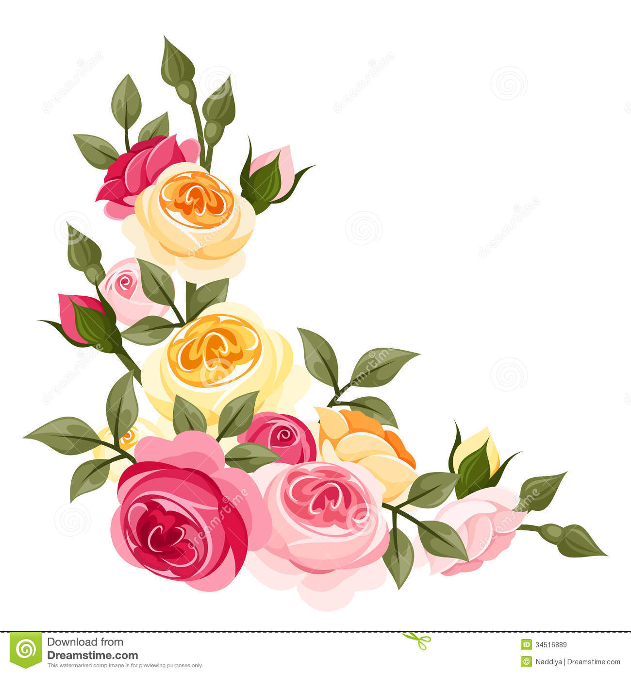 Rose clipart english rose #2