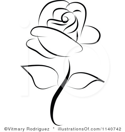White Rose clipart illustration #4