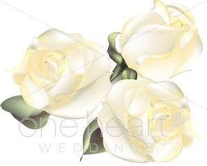 White Rose clipart large white #9