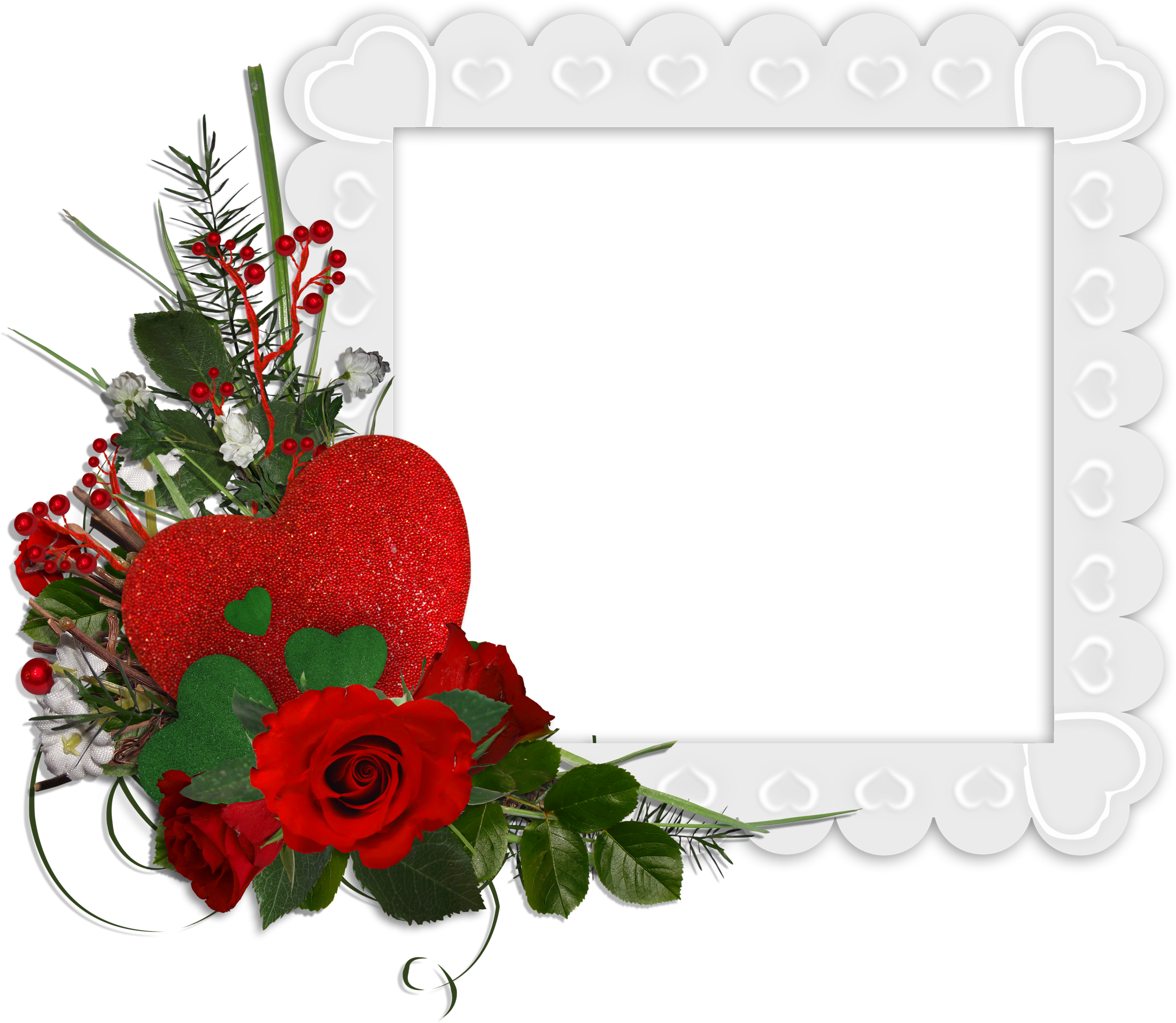Red Flower clipart nice view #9