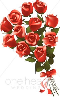 Beautiful clipart dozen rose Roses Red One Rose