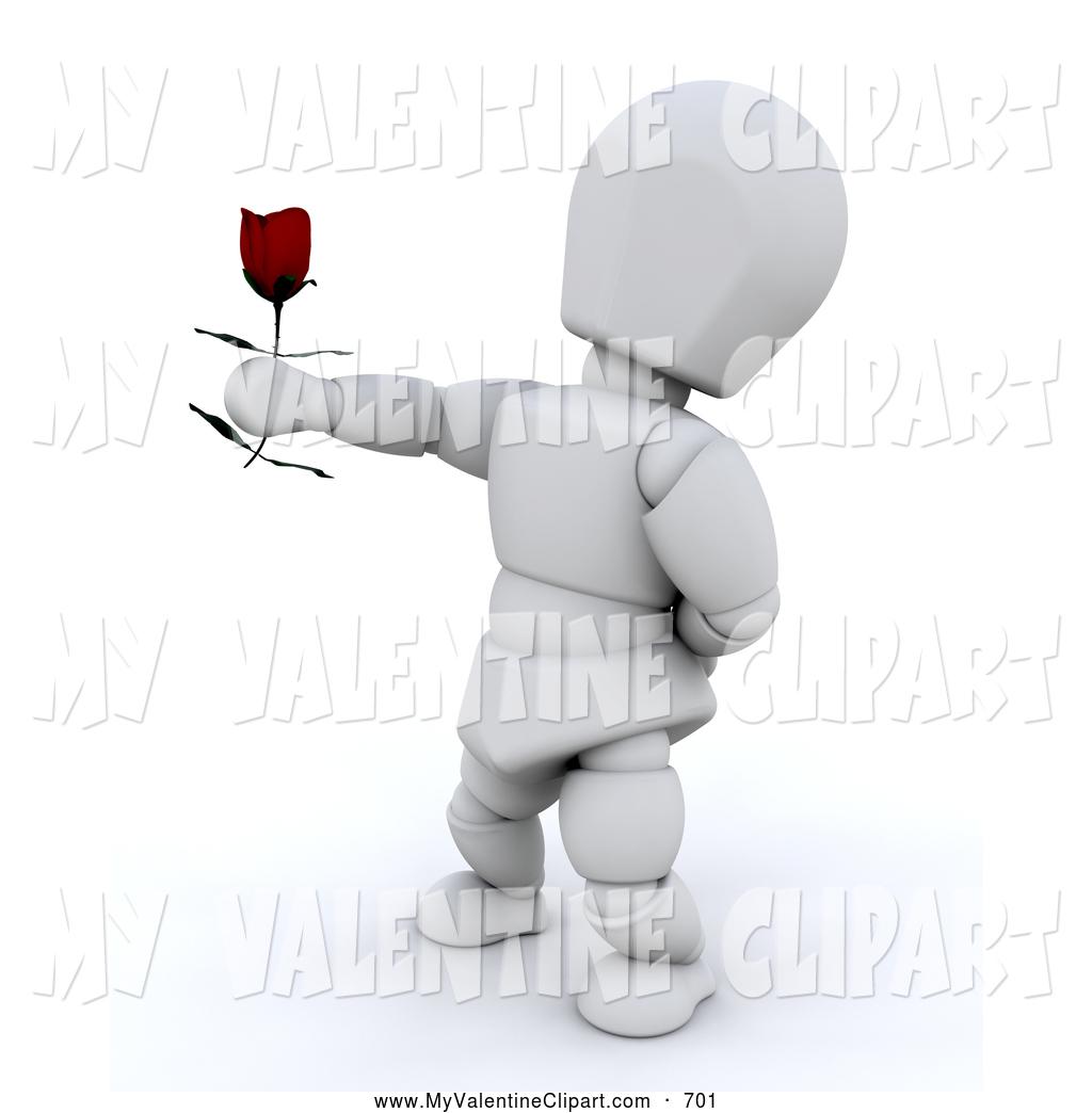 Single clipart single man Valentine White of  Arm
