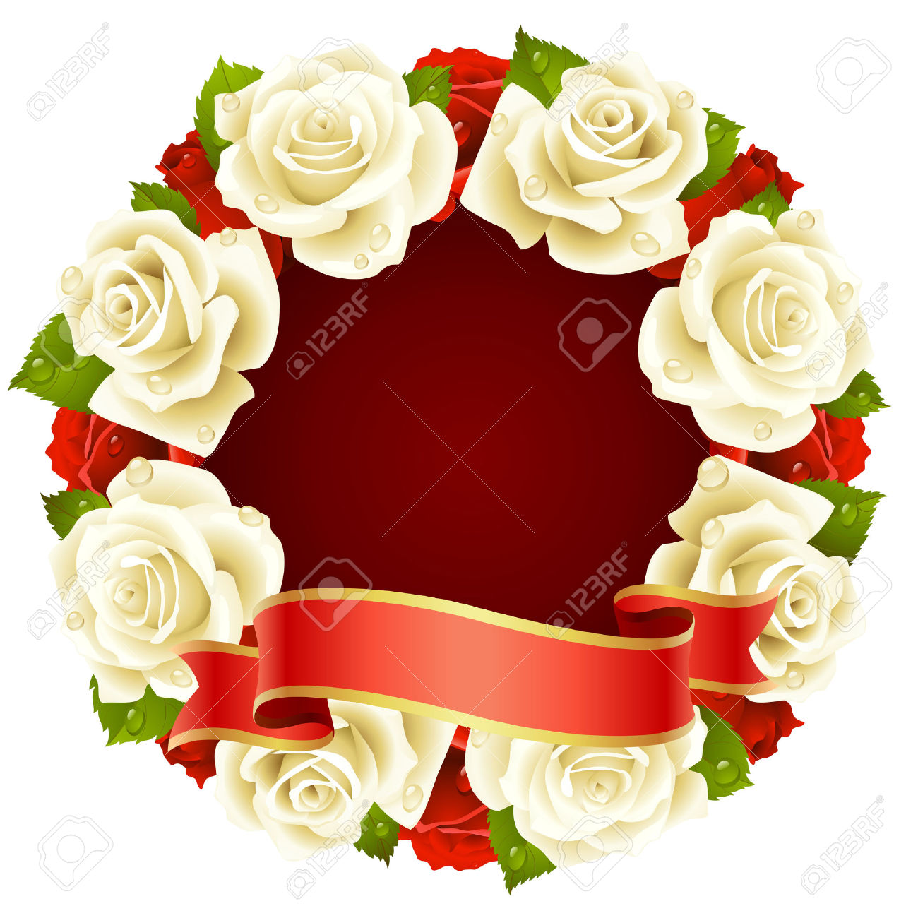 White Rose clipart real #9