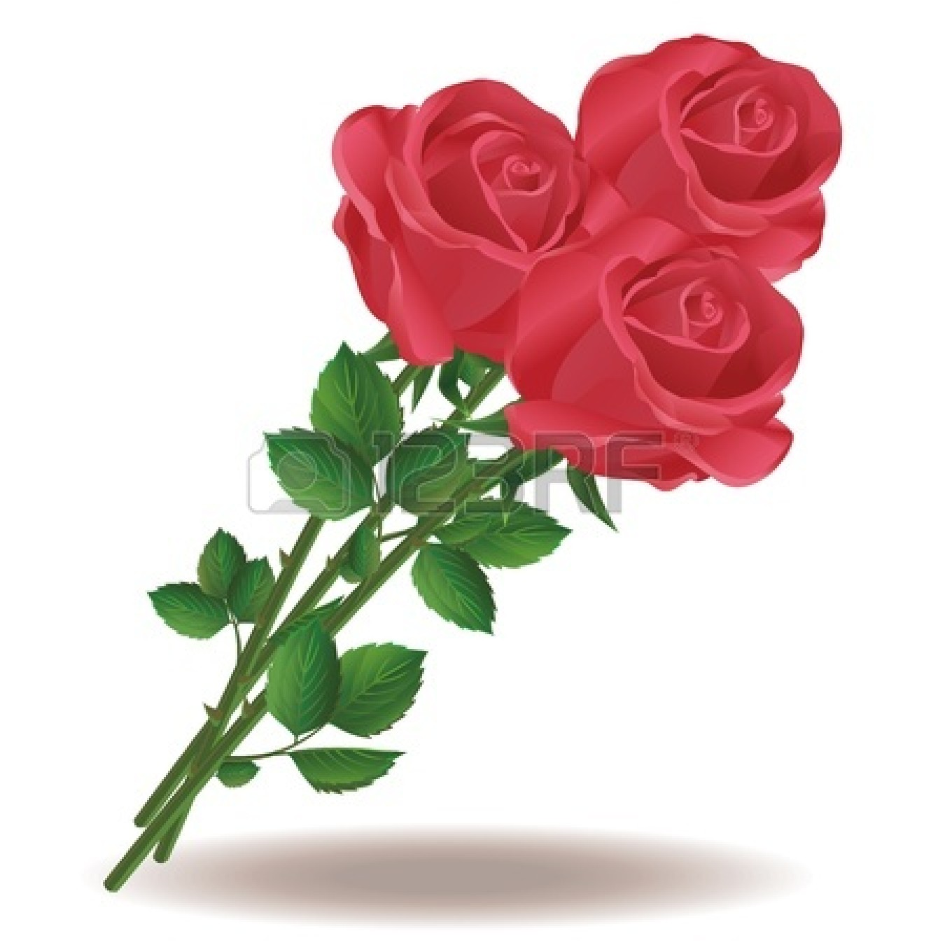 Bouquet clipart dozen rose Bouquet Art Rose Clipart Clip