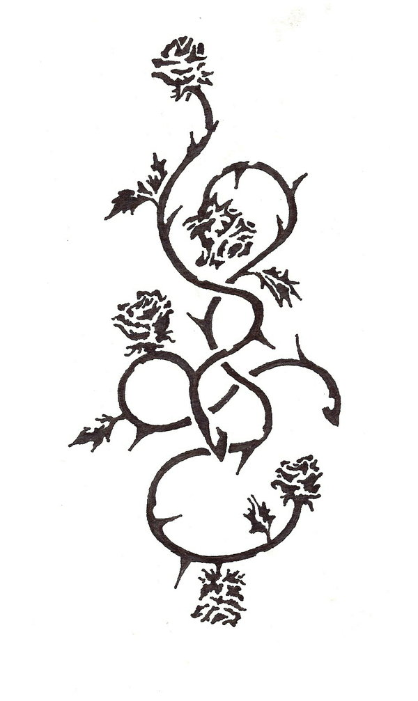 Rose Bush clipart rose vines #14