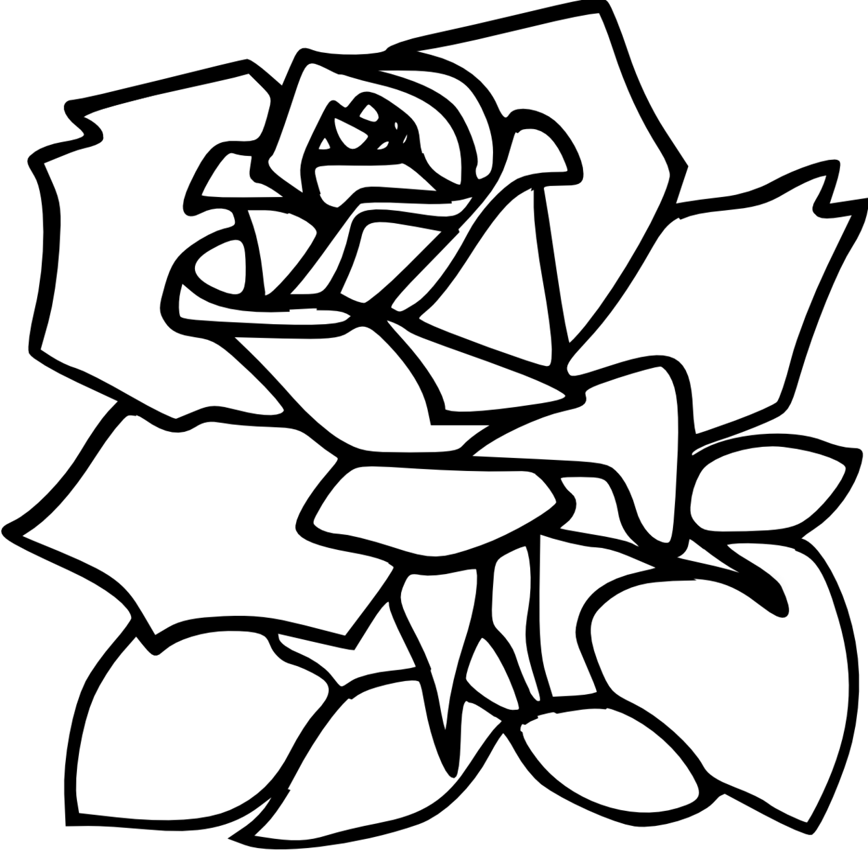White Rose clipart svg Rose Clipart Red 109 Rose