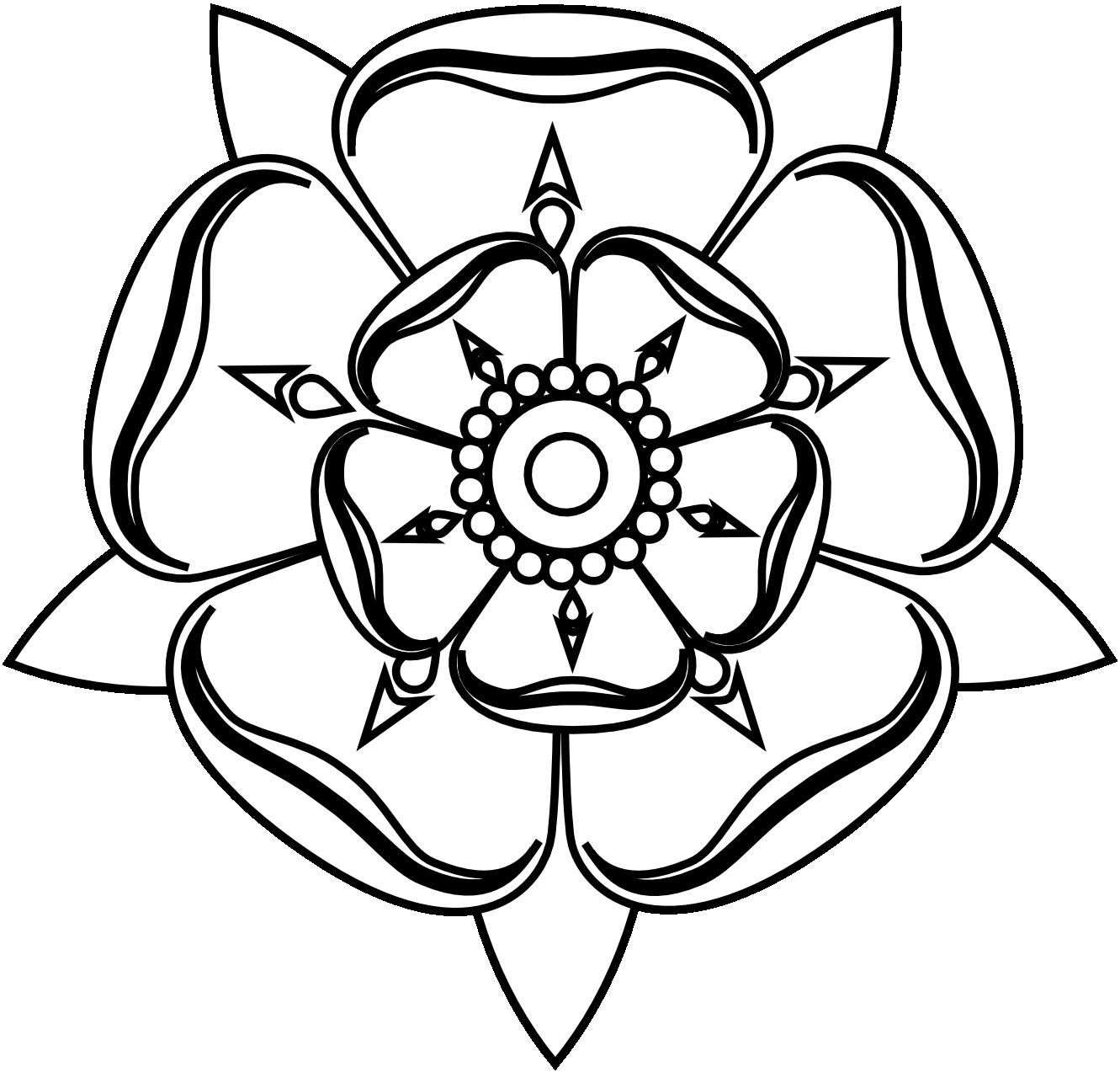 White Rose clipart svg #9