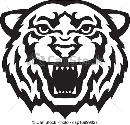 White Tiger clipart EPS tattoo Illustrations Tigers tiger
