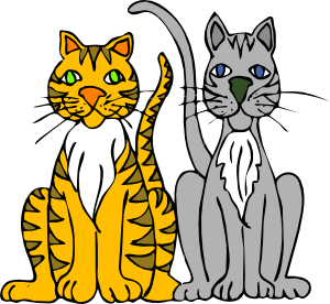White Tiger clipart two Change Art Free Clip to