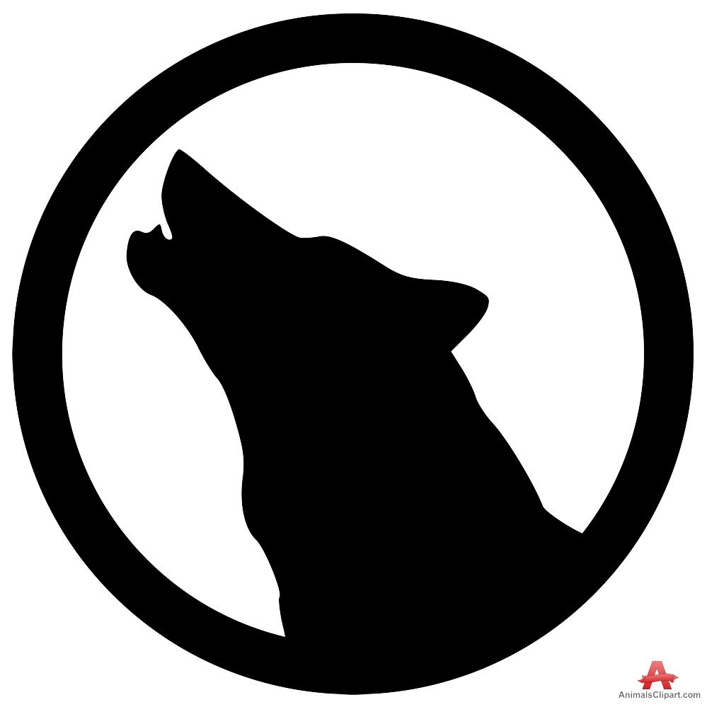 White Wolf clipart angry Wolf Wolves Logo symbol Clipart