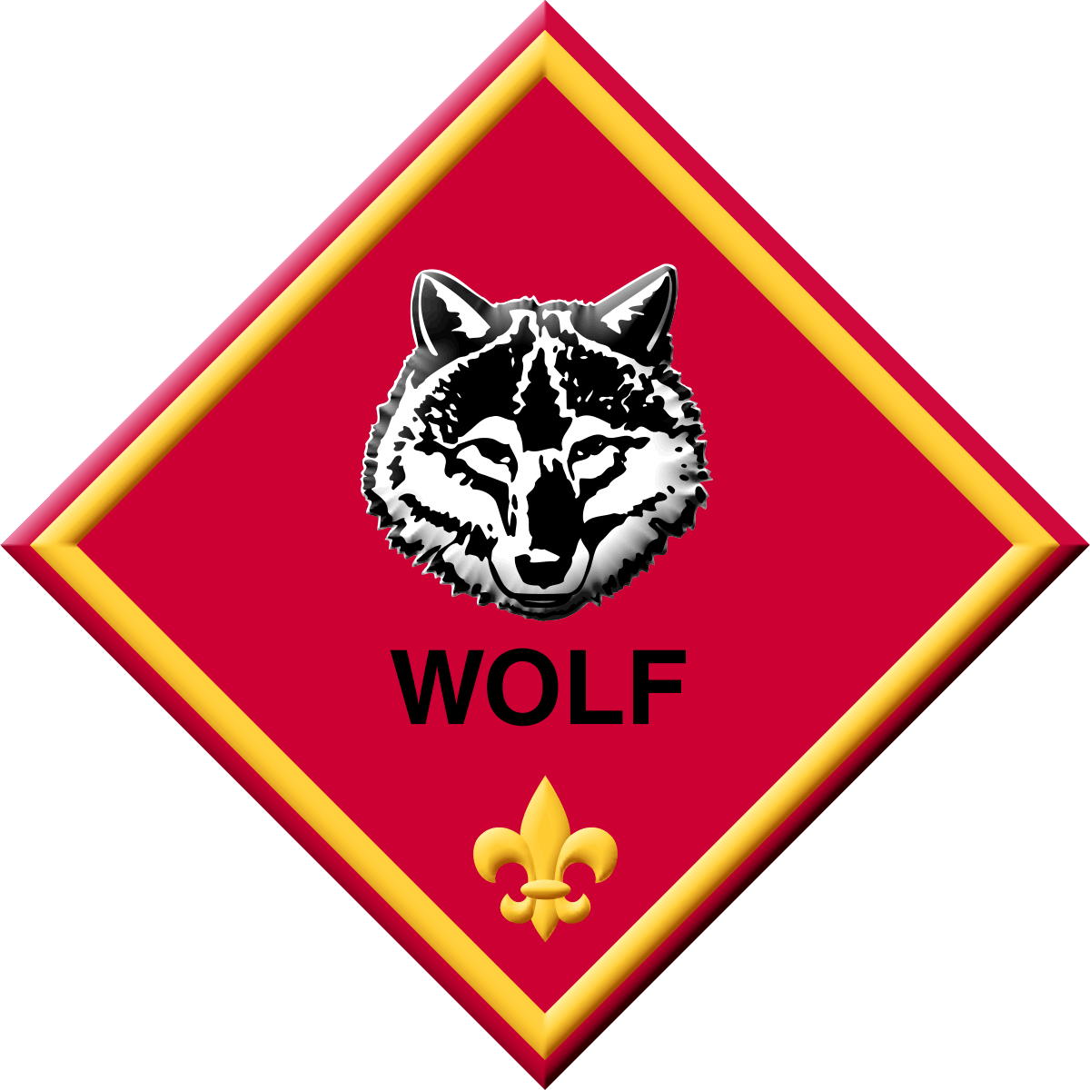 White Wolf clipart cub scout Pack 59  Cub Scouts