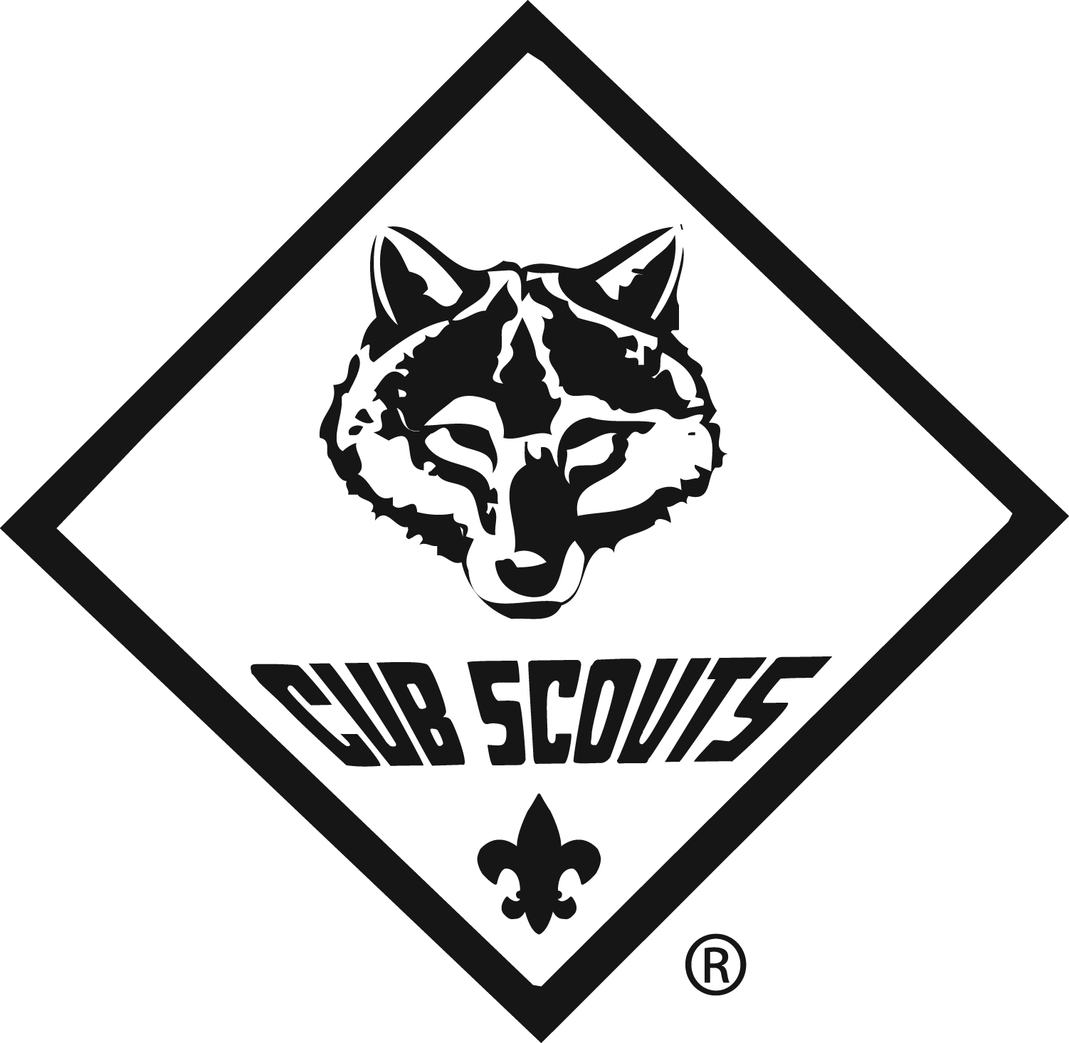 White Wolf clipart cub scout By Pinterest Maggie Scouts/Cars