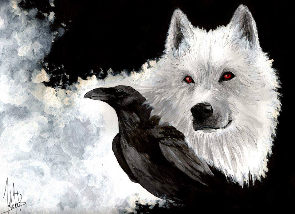 White Wolf clipart monochromatic On images Wolves 959 and