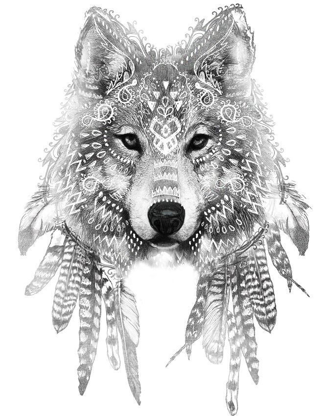 White Wolf clipart monochromatic Pinterest on Art best Google