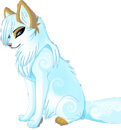 White Wolf clipart nice cartoon Funny to funny power be
