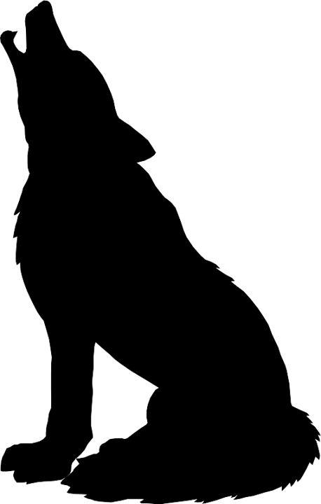 Wolf clipart stencil art Wolf ideas silhouette Best 25+
