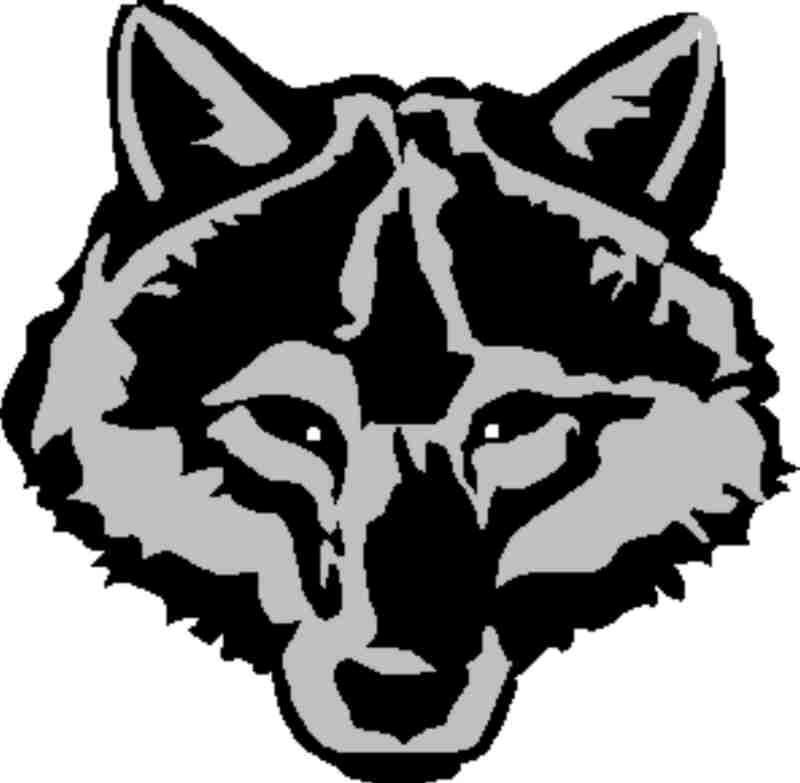 Wolf clipart stencil art Wolf Clipartion Clip Art Wolf