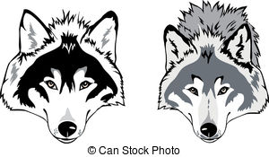 White Wolf clipart wolf face And Wolf Illustrations Wolf royalty