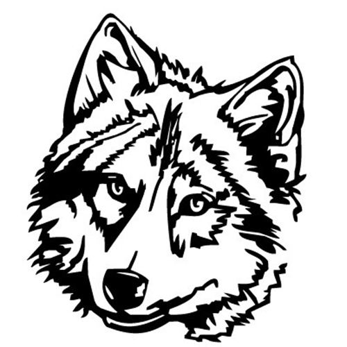 White Wolf clipart wolf head ClipartFan 9899 and Favorite White