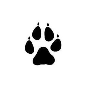 Wolf clipart basic Paw pictures and wolves Wolf