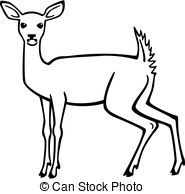 White-tailed Deer clipart White tailed clipart Deer White