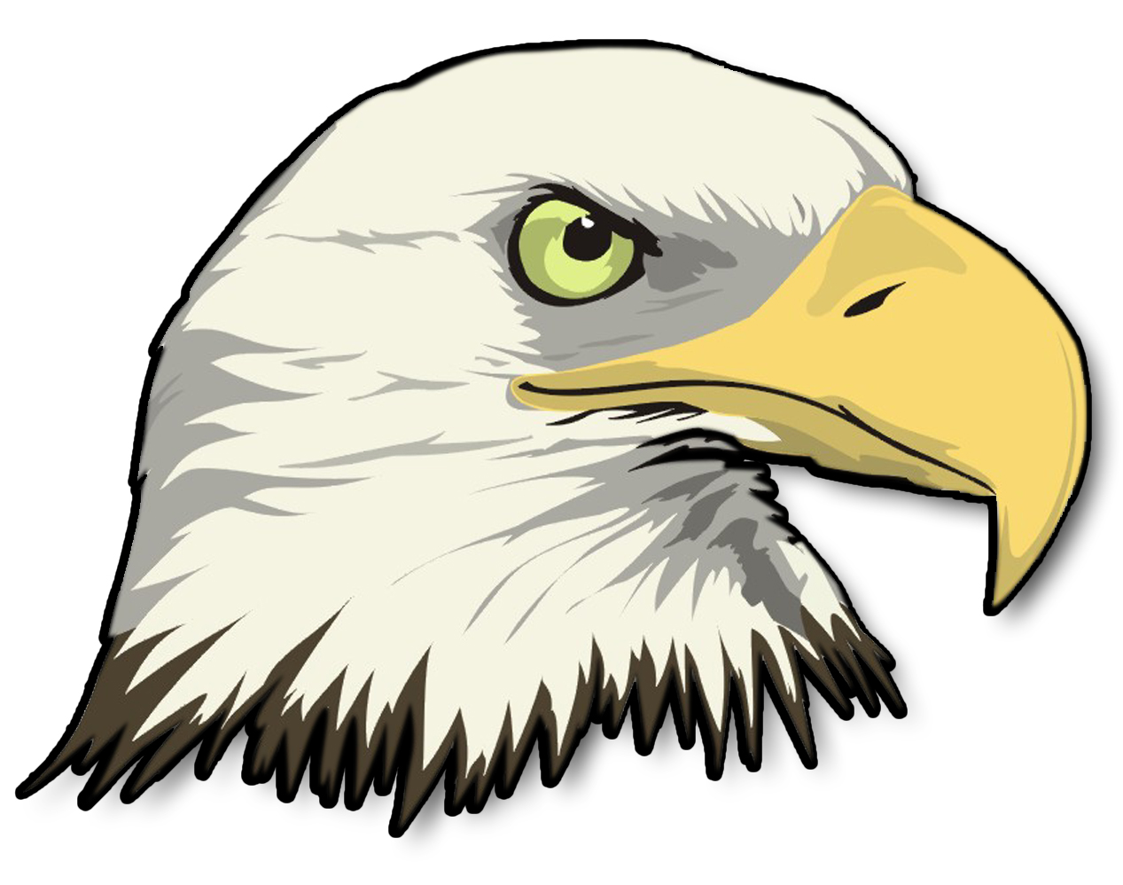 Bald Eagle clipart cartoon Clipartix Cartoon eagle Free clipart