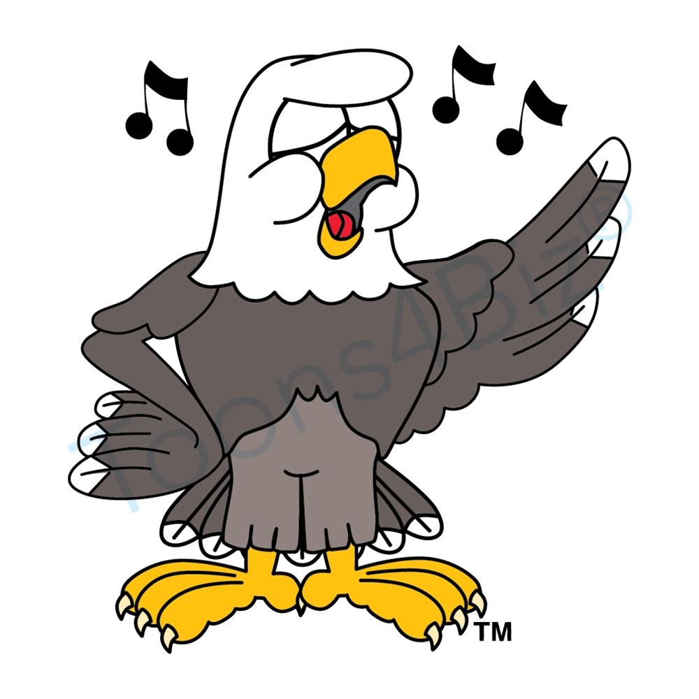 Bald Eagle clipart cartoon Pictures Art Bald mascot clip
