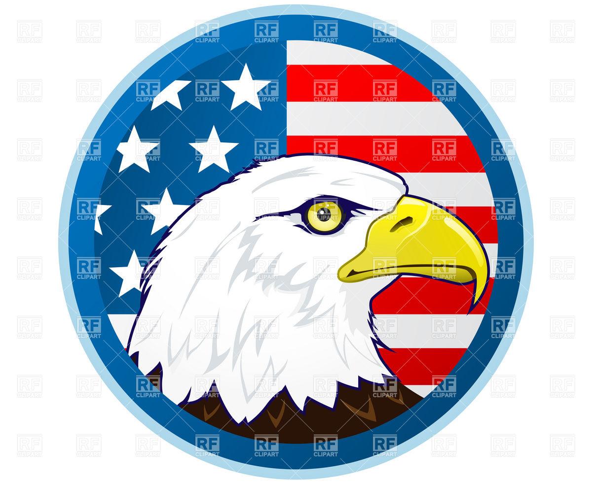 America clipart american eagle Free Free Patriotic Eagle Eagle