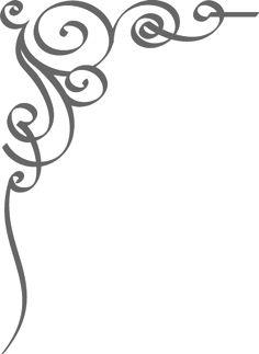 Wiccan clipart corner Word Elegant Art art Simple+Corner+Borders+Clip+Art