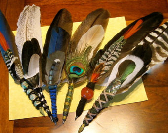 Wiccan clipart feather quill Letters for Custom Quill Love