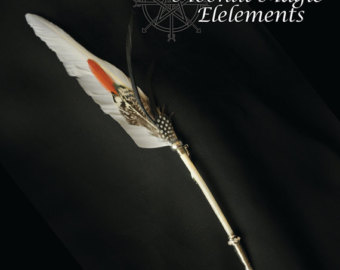 Wiccan clipart feather quill Etsy Wicca Feather Shadows pen