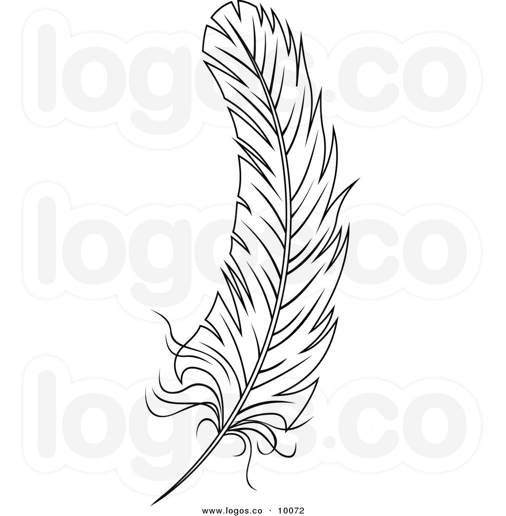 Wiccan clipart feather quill  on Quill feather Pin