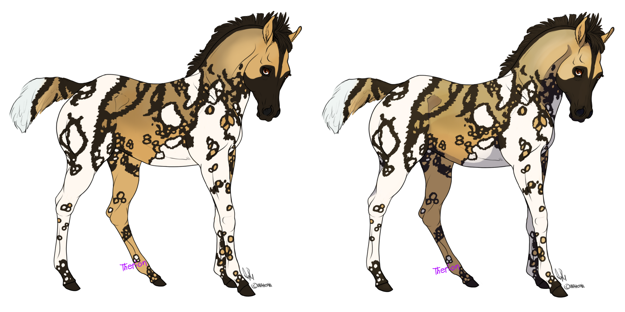 Wild Dog clipart African Baada Dog)(Sold) wild (African