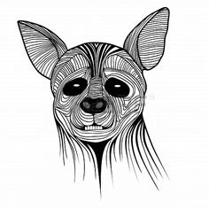 Wild Dog clipart Hyena Clipart > design shirt awesome ClipartVectorsTattoo