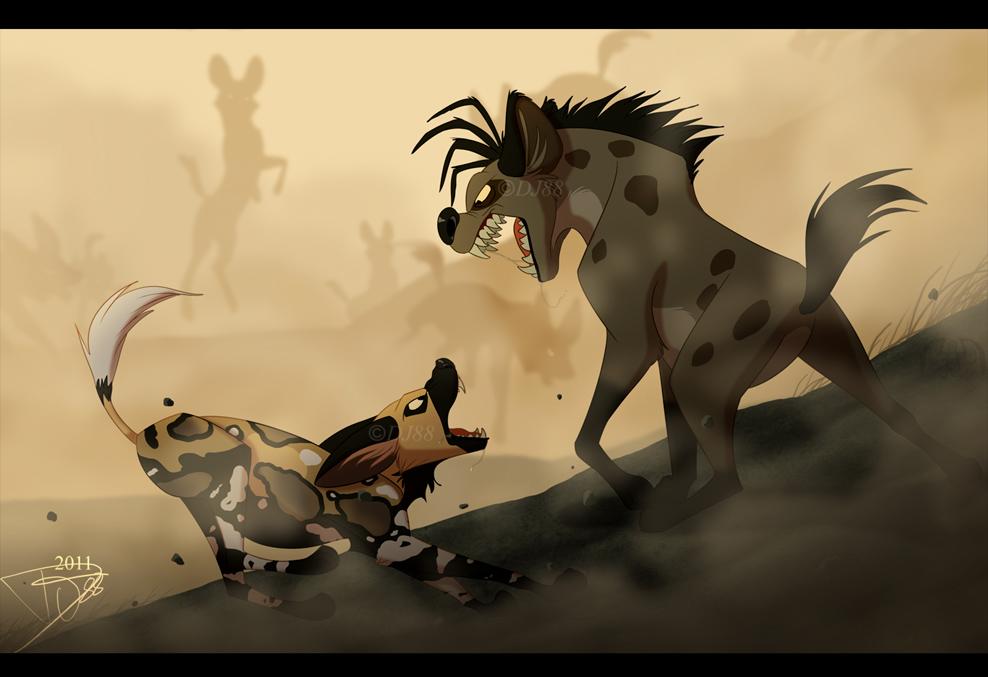 Wild Dog clipart Hyena Clipart DJ88 DJ88 AWDs VS on