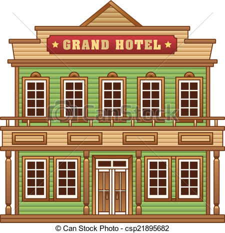 Building clipart old west  building West grand Wild