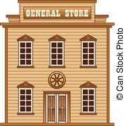 Wild West clipart cartoon Land  building Land of