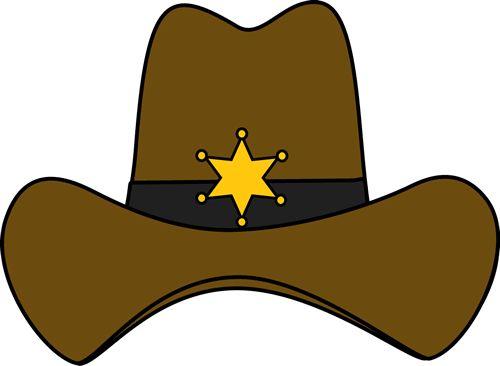 Wild West clipart cap #2