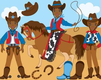 Wild West clipart cap Wild clipart horse West cowboy