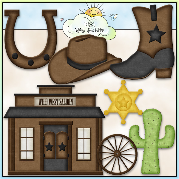 Wild West clipart country western Wild & Wild 1 Exclusive