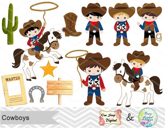 Cowboy clipart vaquero Cowboy Clip Wild Cowboy Little