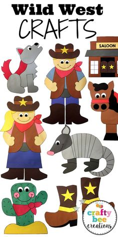 Wild West clipart funny #9