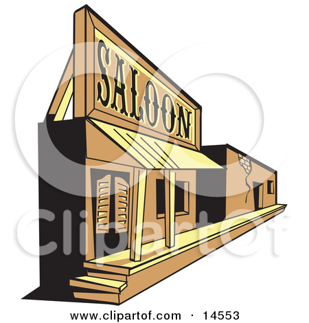 Wild West clipart ghost town #3